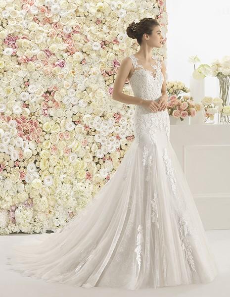 novia | calais | aire barcelona | vainise bodas | madrid - vestidos